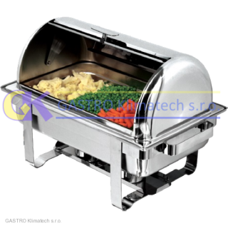 Chafing s poklopem ROLL-TOP GN1/1